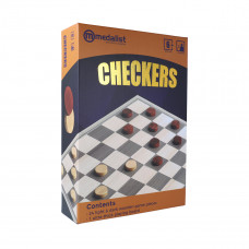 Medalist Deluxe Checkers Set