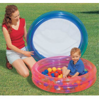 Bestway 2 Ring Kiddie Pool with 50 Game Balls