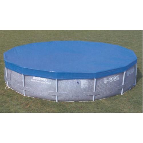 bestway pool cover steel pro frame. Black Bedroom Furniture Sets. Home Design Ideas