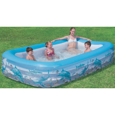 Bestway Deluxe Rectangular Family Pool