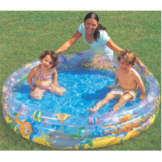 Bestway Ocean Life (122cm) 3 Ring Pool