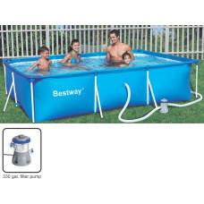 Bestway Deluxe Splash Frame Pool - 300