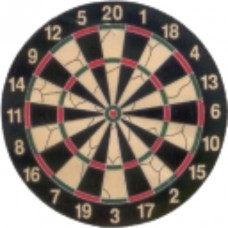 Medalist Flocked Dartboard