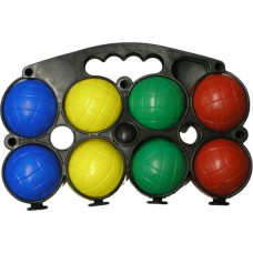 Medalist 8 Plastic Boules Set In Carry Frame