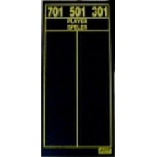 Medalist 301/501/701 Darts Scoreboard
