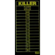 Medalist Killer Darts Scoreboard