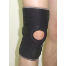 Medalist Neoprene Open Patella with Straps Knee Support