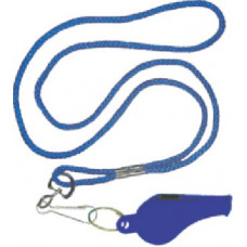 Medalist Plastic Whistle with Lanyard