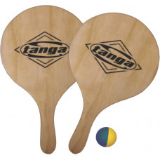 Tanga Solid Wood Beach Bats Set