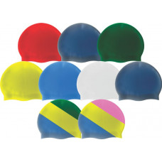 Aqualine Silicone Swim Caps