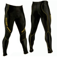 Second Skins Men's Full Length Compression Tights