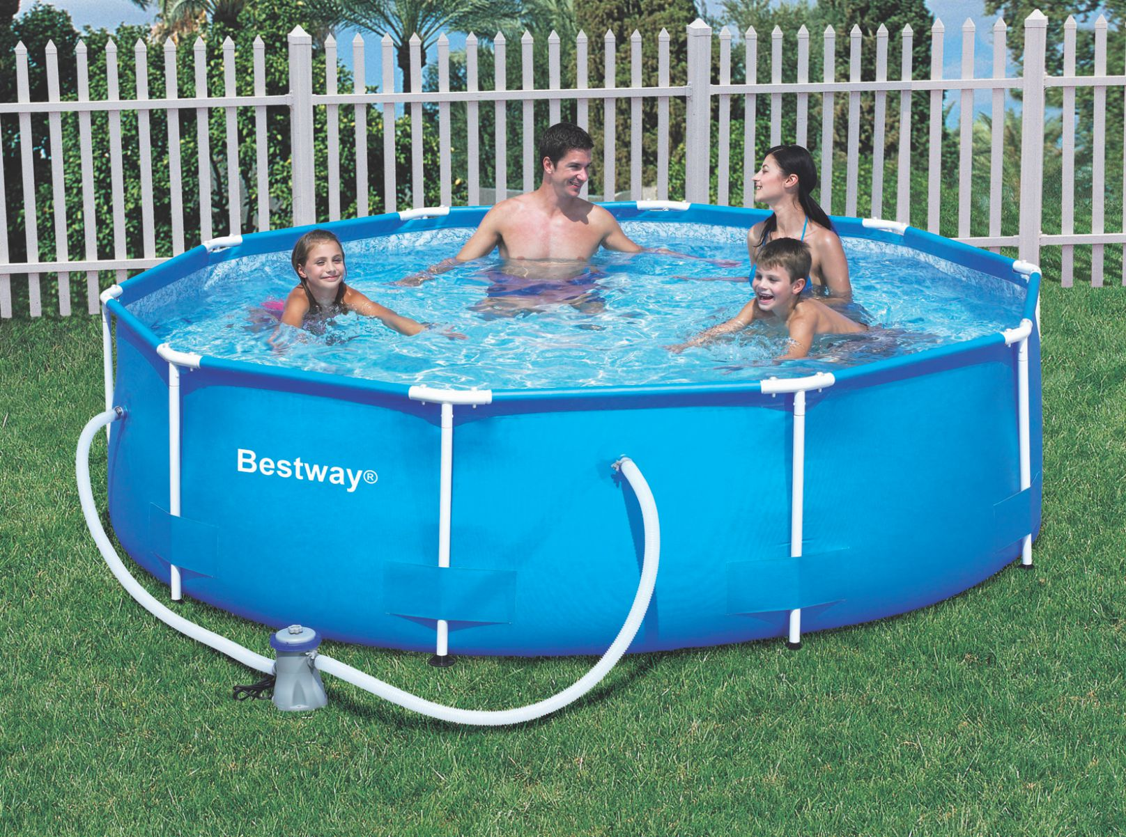 Pools bestway steel pro frame pool set 10 x 30 bestway 30kg for sale in cape town id - Steel frame pool ...